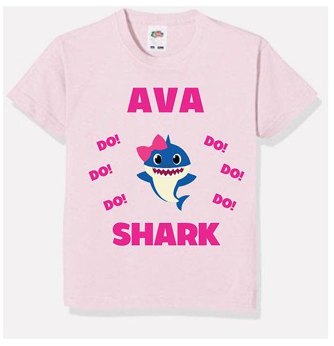 Baby Shark, do do do, Personalised T-shirt