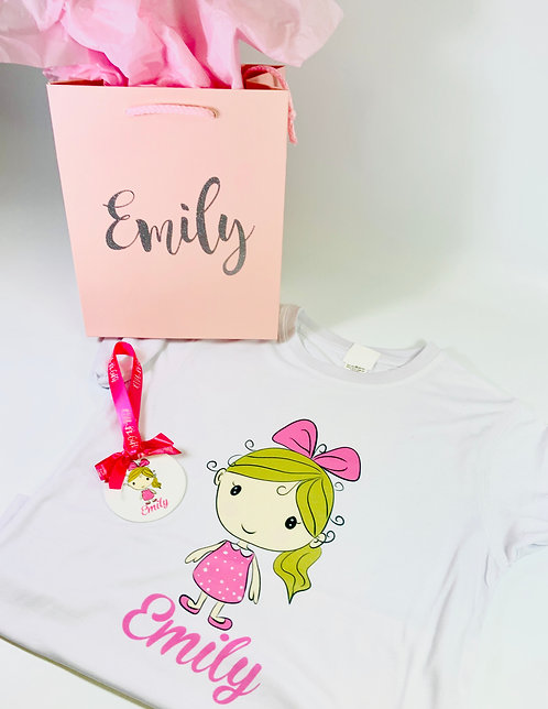 Make Me a Cartoon Gift for Kids, T-Shirt, Bag and Ornament