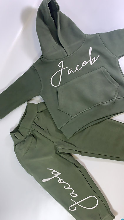 Matching Name Set, Hoodie and Jogger