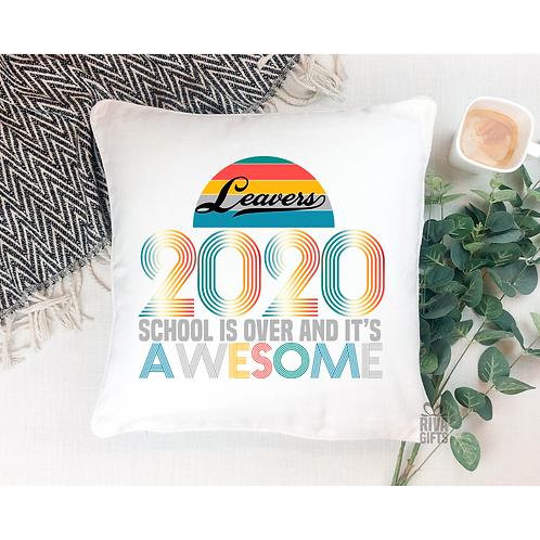 2020 AWESOME Leavers Cushion