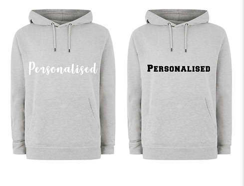 Unisex Hoodies, Personalised, Riva gifts