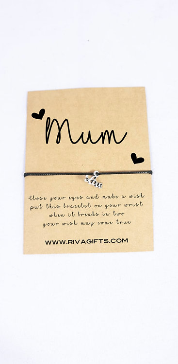 personalised wish bracelets, gifts for kids, keepsakes gift for mums Weston super mare riva gifts