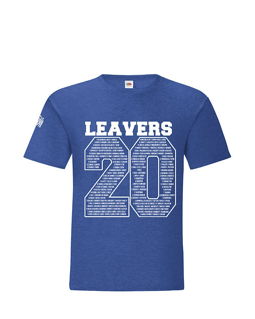 Leavers t-shirt 2020