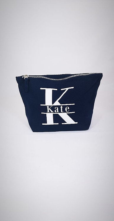 Travel Bag, Make up bag Personalised, Monogram, Riva gifts