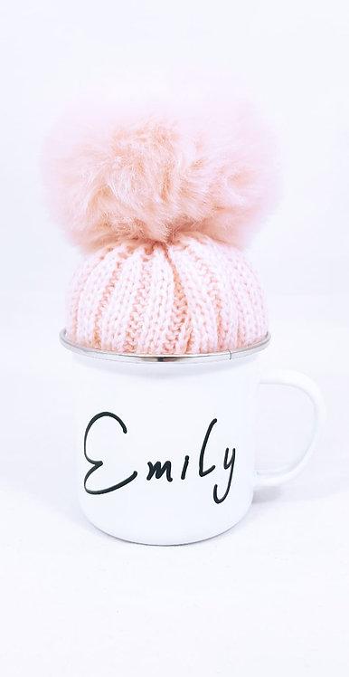 Name Mug with Hat, Coffee Cup, Mug, Personalised