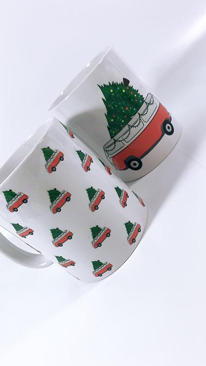 Christmas Camper Mug Set