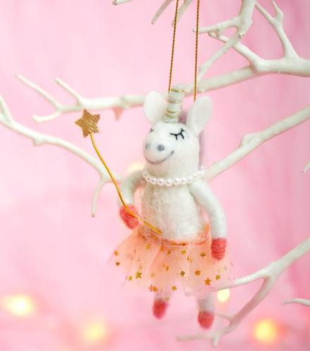 Unicorn Hanging Fairy Decoration