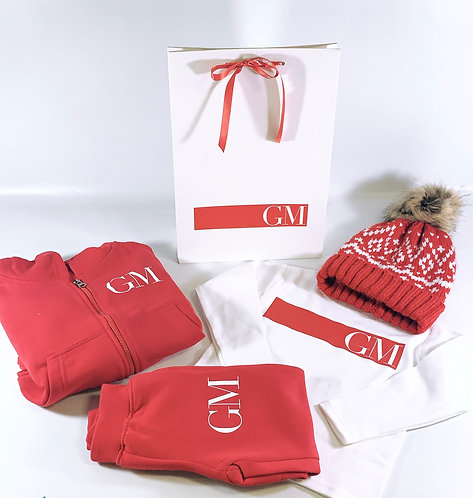 Matching Initial Tracksuit Gift Set