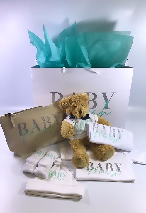 New Baby Filled Personalised Gift