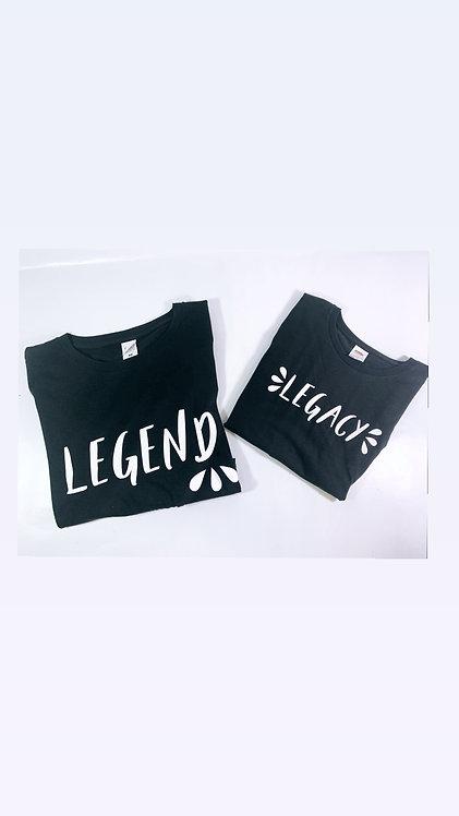 Legend and Legacy T-shirt Set