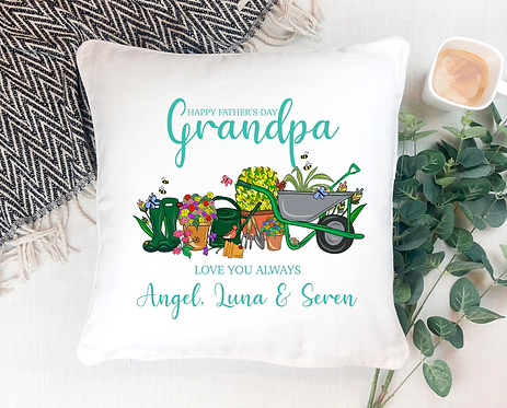 Cushion Cover, Love My Garden, Personalised