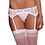 Thumbnail: Too's Company - Sexy and Delicate Scalloped Lace Garter Belt
