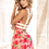 Thumbnail: Too's Company - Floral Print Babydoll with Matching G-String