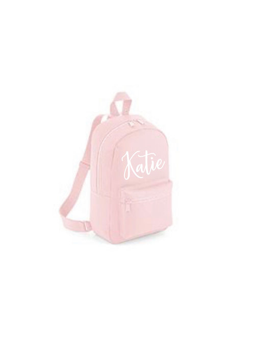 Small Backpacks, Personalised, Little Bag, BG153, personalised back pack