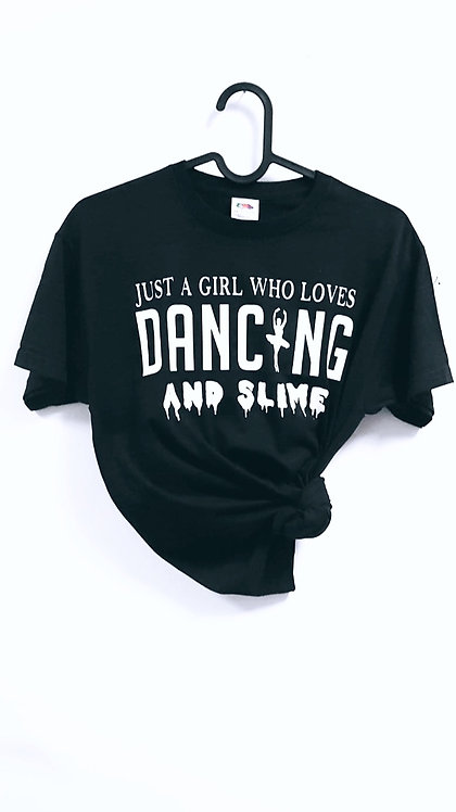 This Girl who, This Boy who, Unisex T-Shirt, Personalised, t shirt, dance