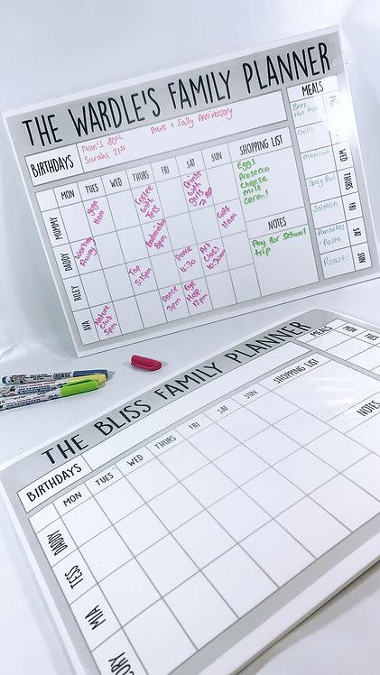 Family Planner A3, Organiser