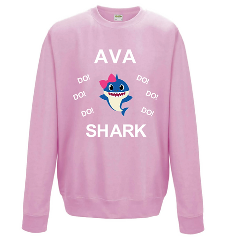 Baby Shark, do do do, Personalised Sweater