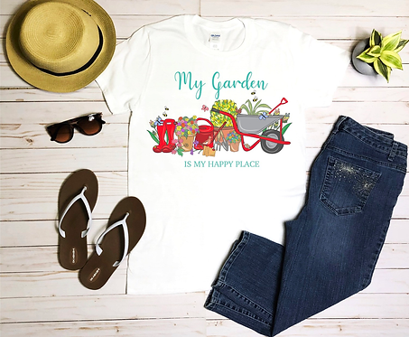 T-Shirt, Love My Garden, Personalised