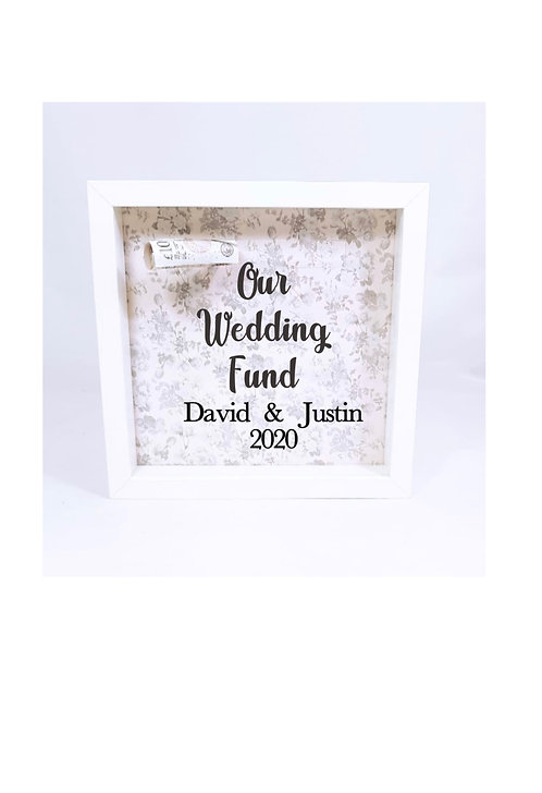 personalised wedding fund, engagement gifts Weston super mare, riva gifts, money box