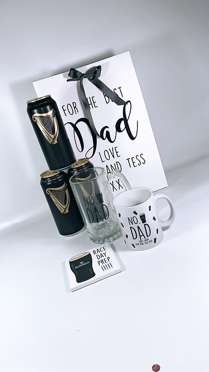 Drink Lover Gift Set, Personalised, Dad Gift, Guinness Gift