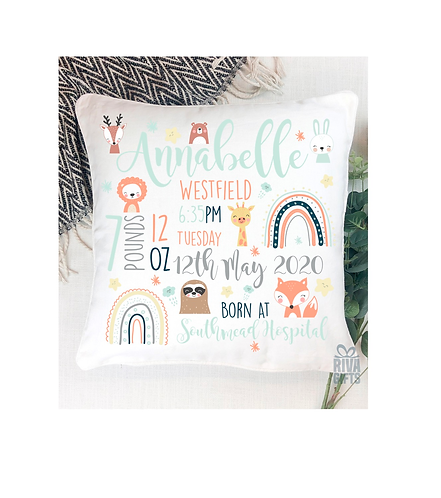 New Baby Memory Cushion Cover