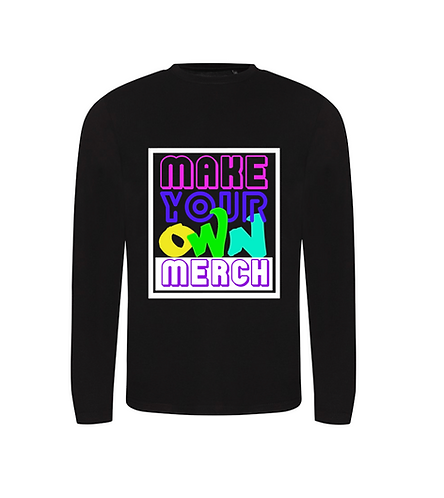 Making your own merch gift for kids - jumper add on