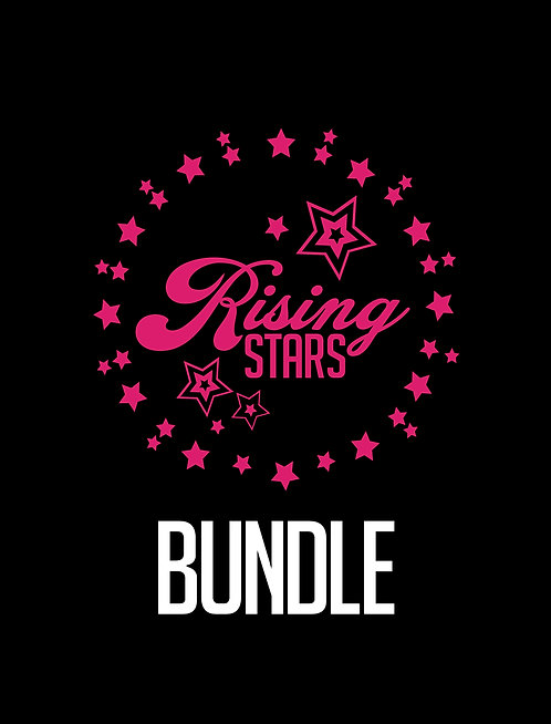 Rising Stars Bundle, T-Shirt, Jazz Shoe and Gym Bag jsflex