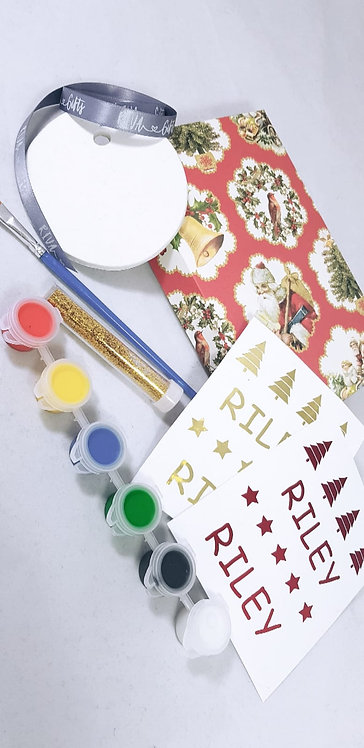 Make your own bauble set, riva gists