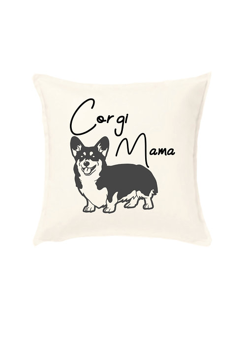 Corgi Cushion Cover, Personalised Pet Owner Gift