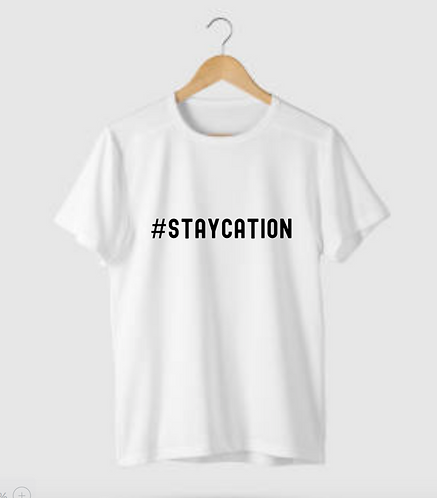 Staycation Unisex T-Shirt, Personalised