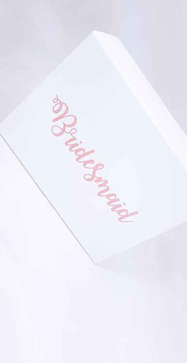 Bridesmaid personalised box