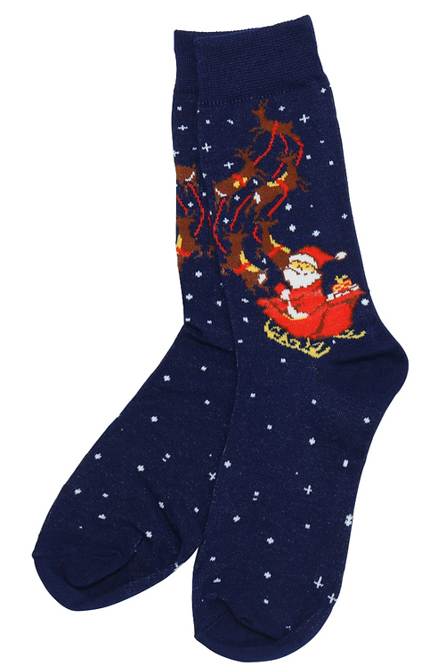 Christmas socks, personalised Christmas gift weston super mare riva gift
