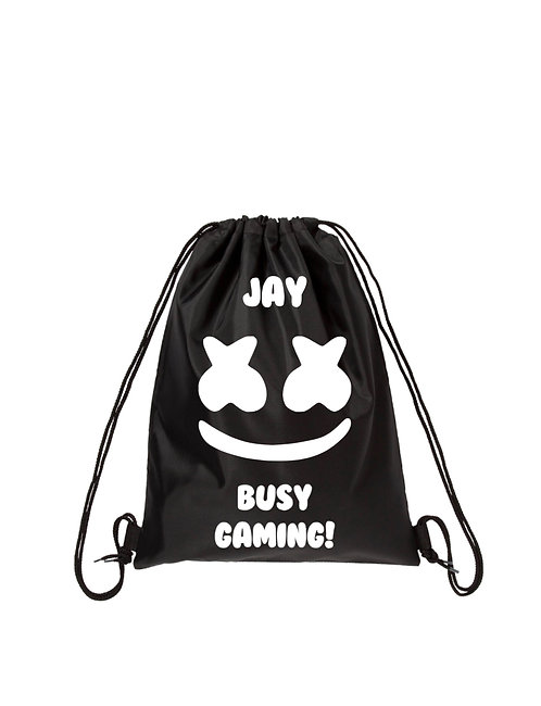 Gaming Gym-sack, Personalised