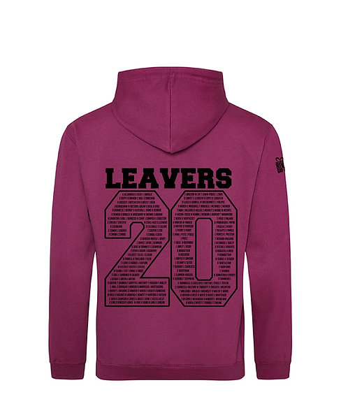 Clevedon Y11 Leavers Zoodie
