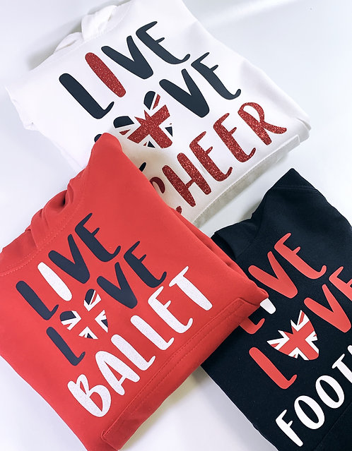 Live.. Love Hoodie