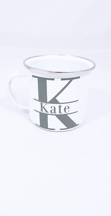 Coffee Cup, Mug, Personalised, Monogram, Riva Gifts