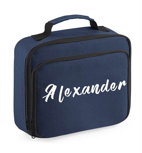 Lunch Box with name, black
