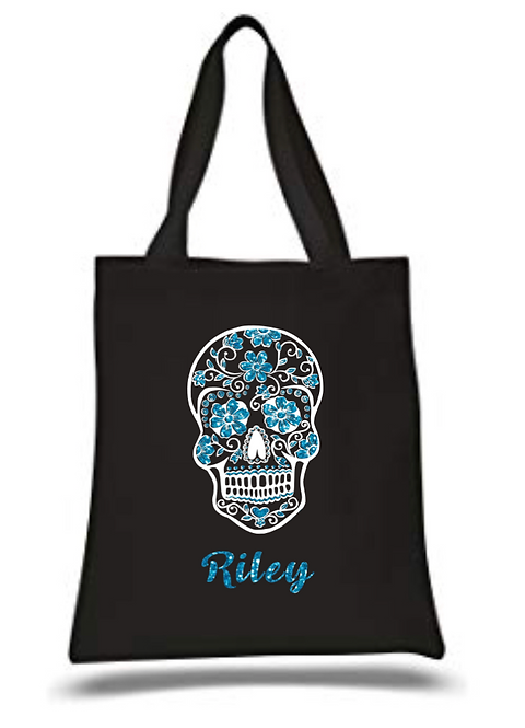 Day of The Dead Personalised Canvas Bag
