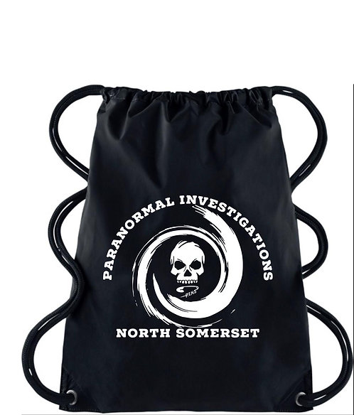 Paranormal Investigation gym sack