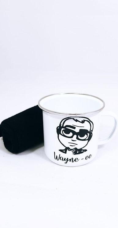 Mug and Sock Set, Cartoon Caricature, Coffee Cup, Mug, Personalised
