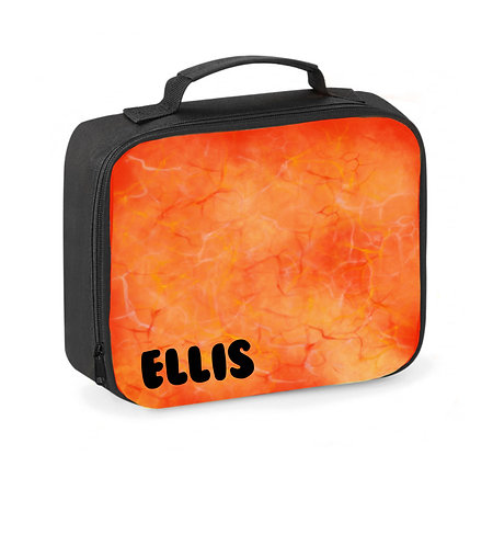 Lunch Box, Personalised, Lava, Lunch Cooler