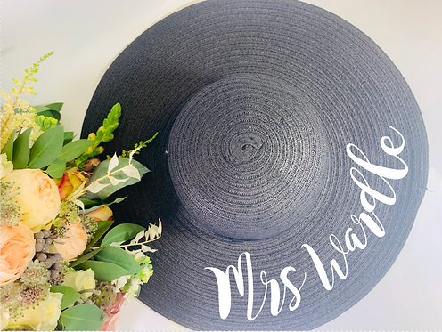 Marbella Sun Hat, Personalised, Holiday