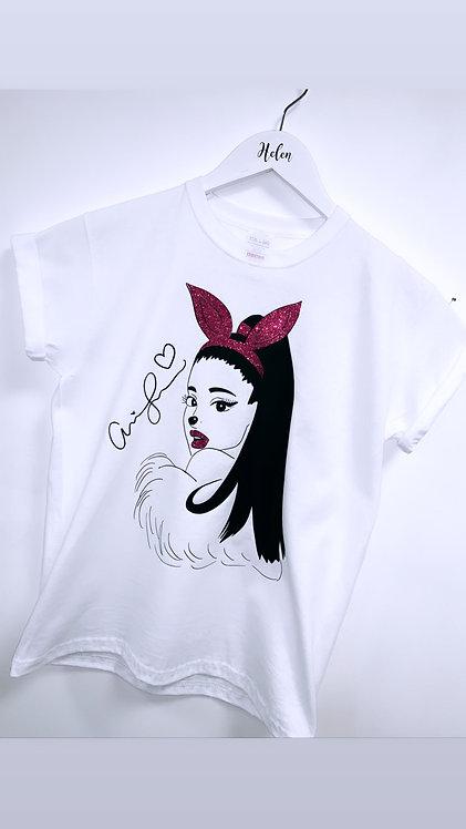Cartoon Glitter pop star T-shirts