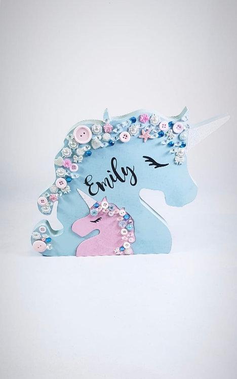 Unicorn, Personalised, Freestanding