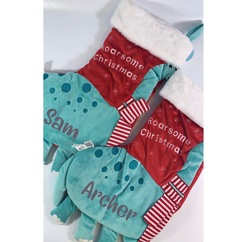 Dino Stocking, Personalised