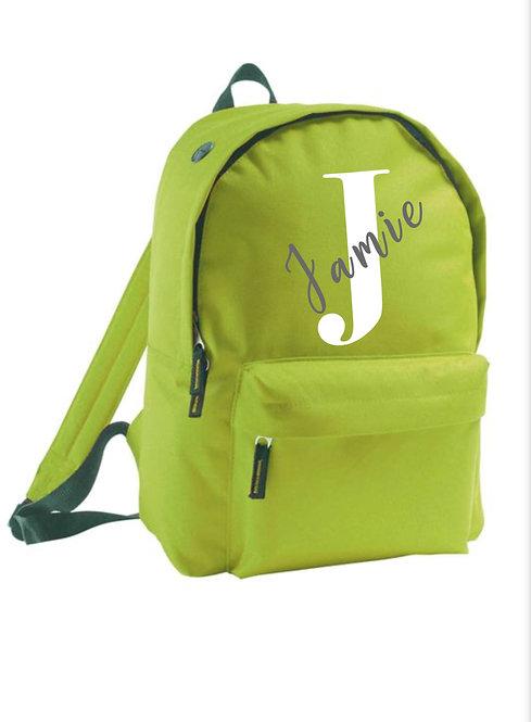 Backpacks, Personalised