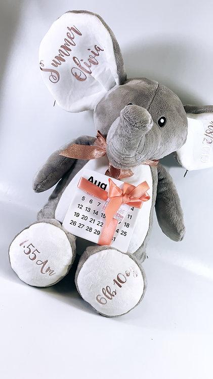 Plush Animal Set, Personalised,