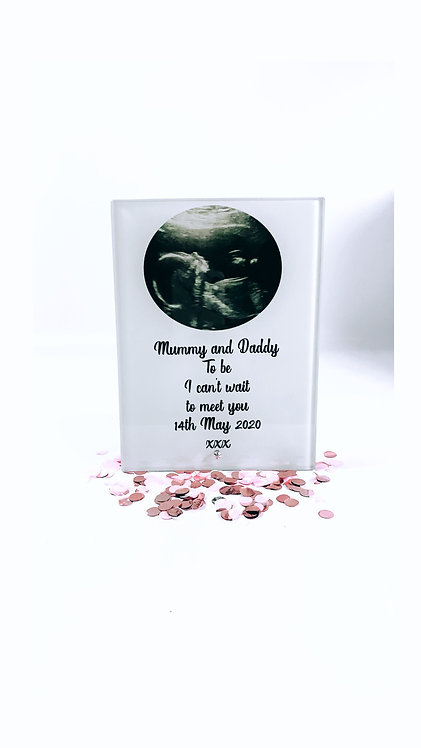Personalised Photo Frame With Message