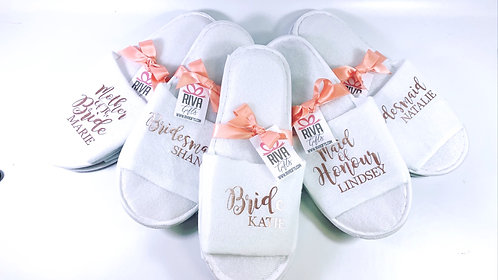 Personalised Slippers, Any role, any name