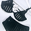 Thumbnail: Too's Company Striped Luxury Black Set